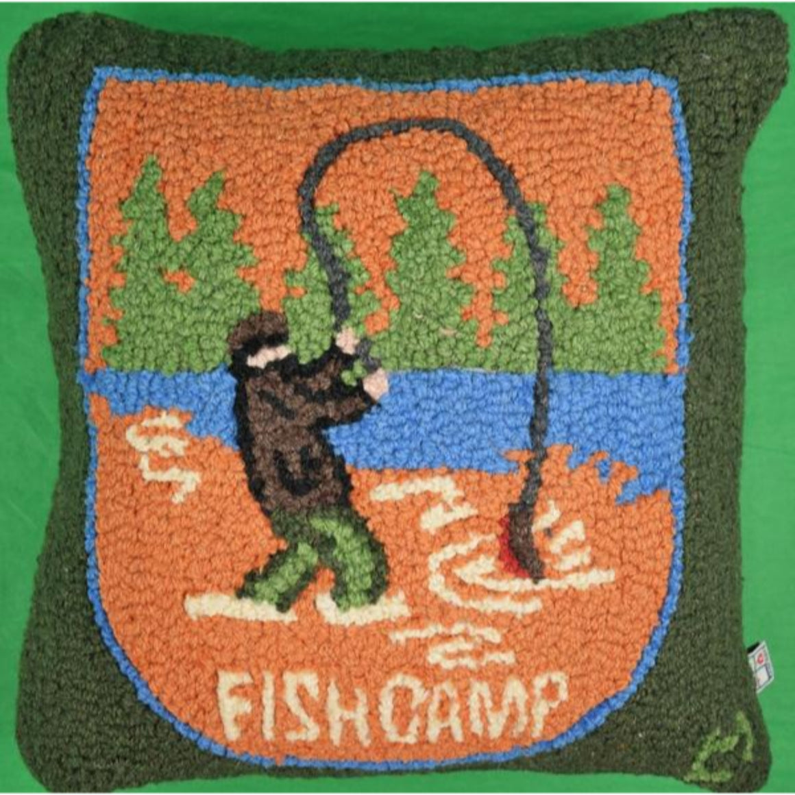 'Fish Camp Pillow'