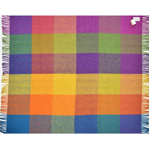 Avoca Irish Wool Plaid Throw