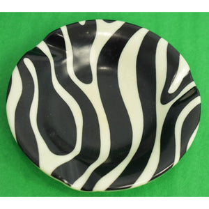 El Morocco Zebra Stripe Ashtray