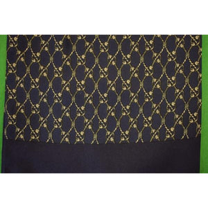 'Hermes of Paris Navy Silk Ascot'