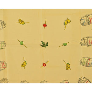 16 Cocktail Recipes Linen Table Cloth