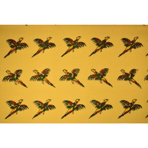 Chipp English Wool Challis Pheasant Gamebird Fabric Bolt