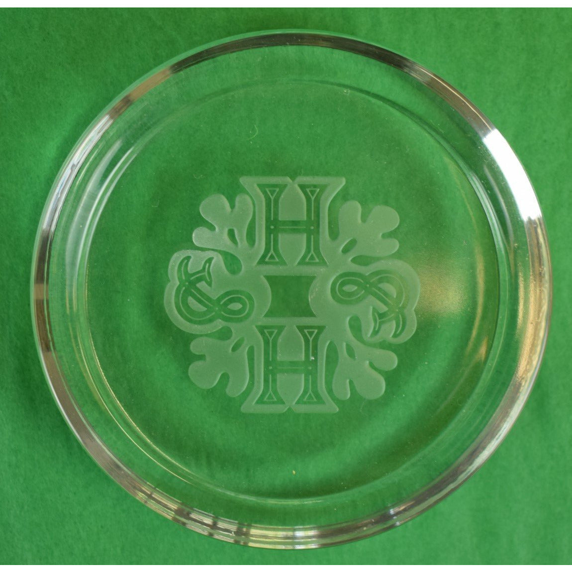 Holland & Holland Crystal Logo Paper Weight