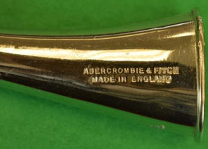 'Abercrombie & Fitch English Chrome Hunting Horn'