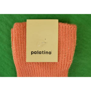 New Italian Melon Mid-Calf Wool Socks Sz: 11 1/2