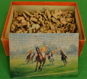 'Abercrombie & Fitch Polo 'A Spirited Contest' 300pc Jigsaw Puzzle Boxed Set'