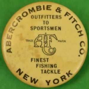'Abercrombie & Fitch Finest Fishing Tackle Lead Sinker'
