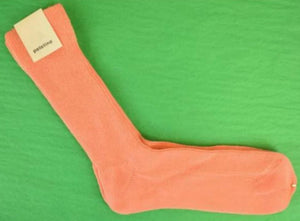 'Italian Wool Mid-Calf Melon Socks' Sz: 11 1/2""