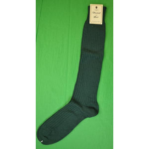 'Turnbull & Asser Tartan Green OTC Socks' (NwT!) (Sold!)