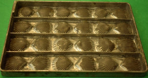 Vintage Scallop 24 Shell Baking Tray