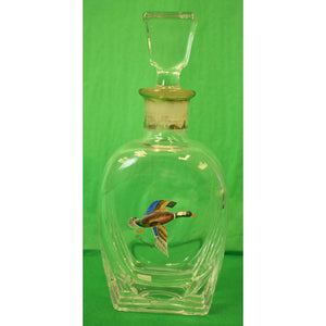 Hand-Painted Mallard Decanter & Stopper from The C.Z. Guest Estate