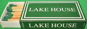 Lake House Oversize Matchbook