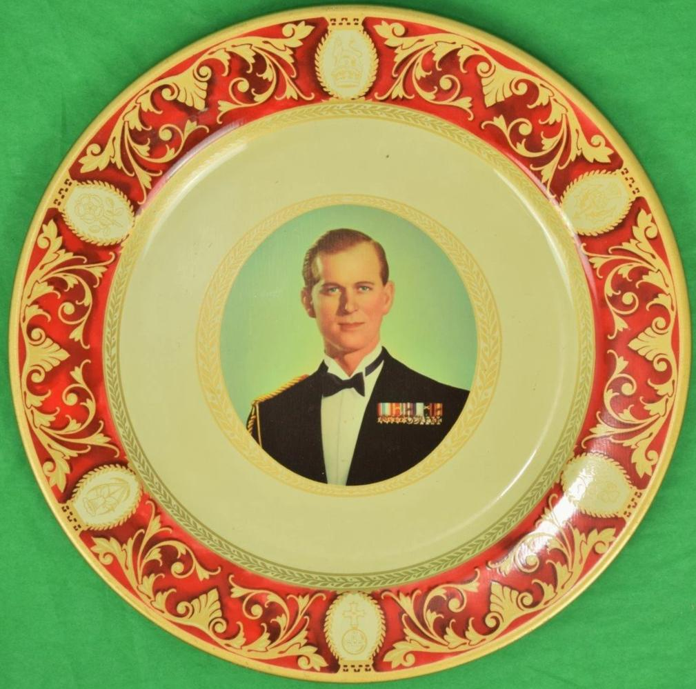 Prince Philip, HRH The Duke of Edinburgh Portland Ware Tin Tray