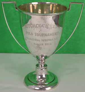 Hitchcock Cups Sterling Polo Tournament Saratoga Springs, NY , 1903