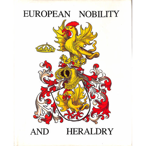 """European Nobility And Heraldry"""
