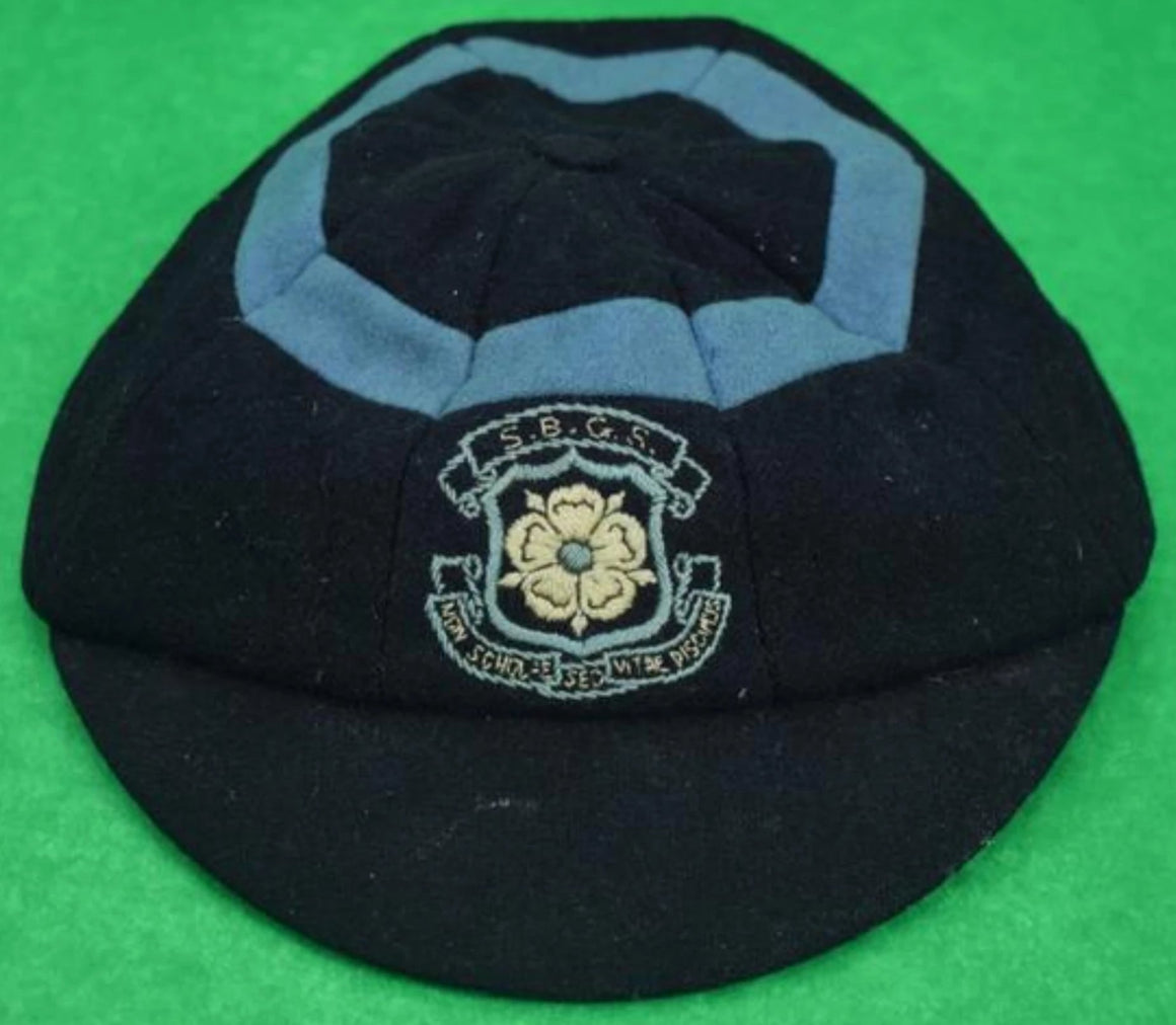 'English SBGS Cricket Felt Schoolboy Cap'