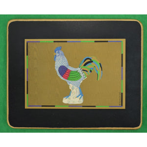 Boxed Set of 4 English Bird Coasters