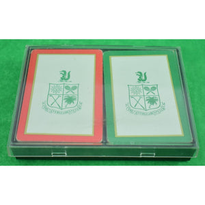 Twin Deck of Everglades Club Palm Beach Boxed Playing Cards