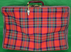 Royal Stewart Canvas Suitcase