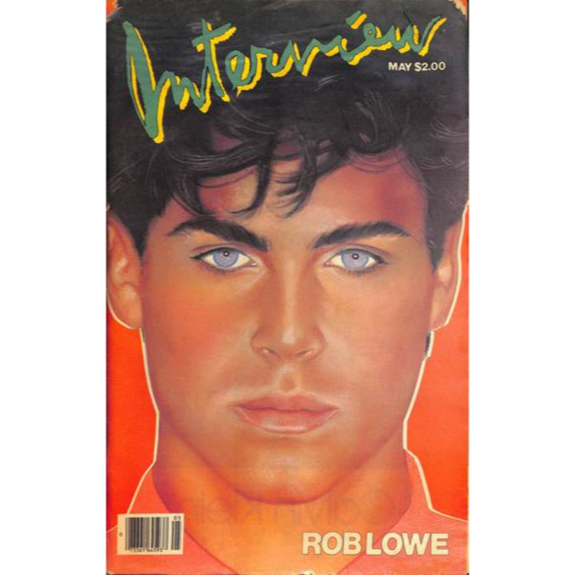 Andy Warhol's Interview Magazine: May w/ Rob Lowe