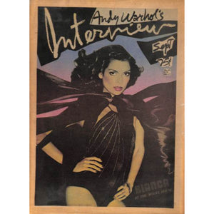 Andy Warhol's Interview: September Bianca at The White House Vol. VI No. 9