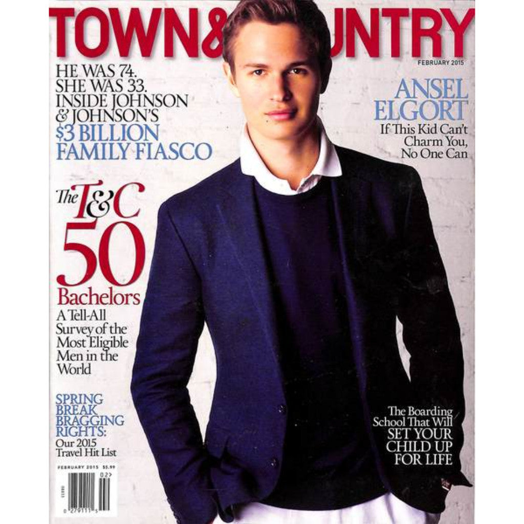Town & Country Magazine The T&C 50 Bachelors