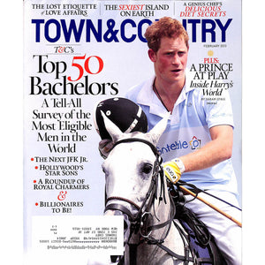 Town & Country Magazine Prince Harry