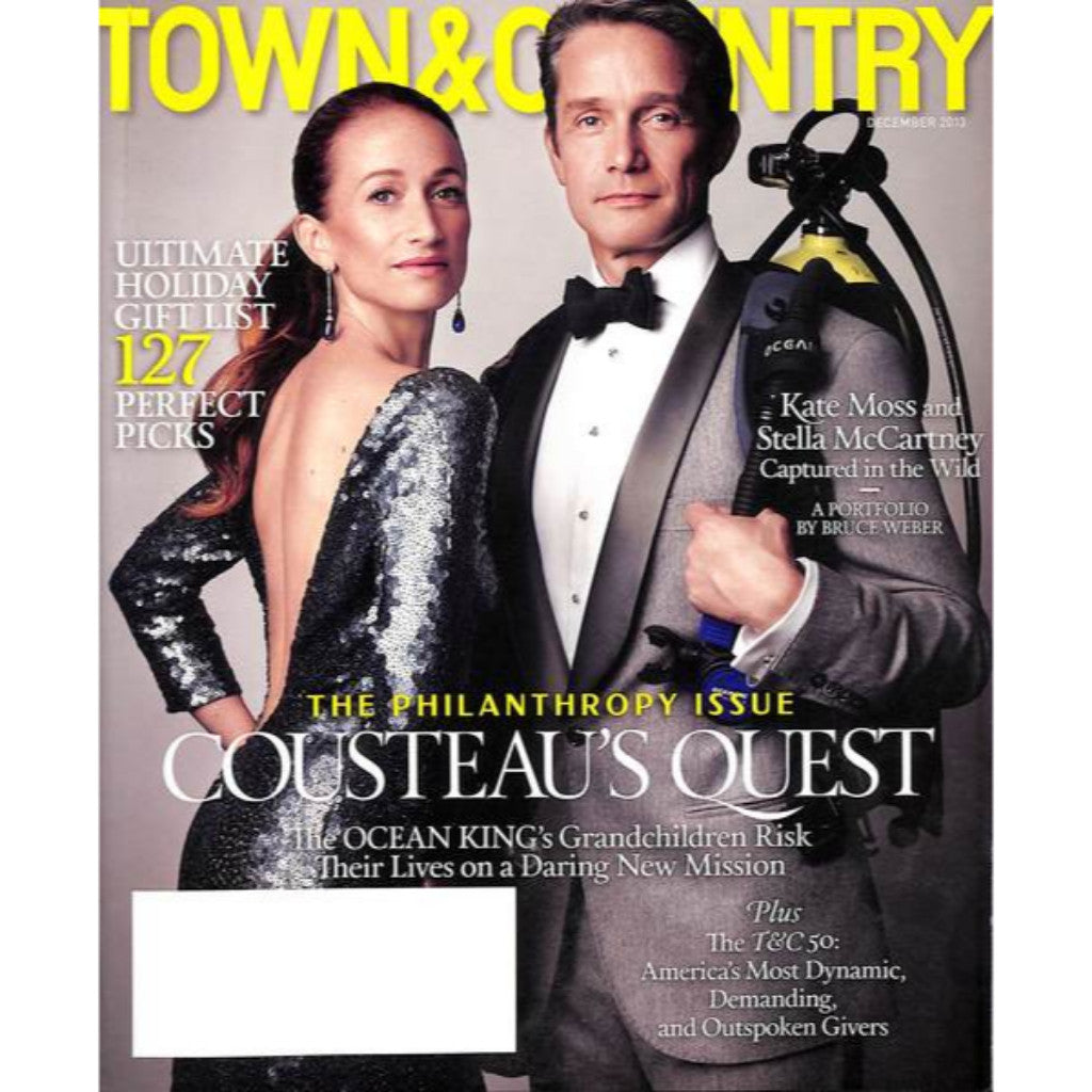 'Town & Country Magazine The 2013 Philanthropy Issue'