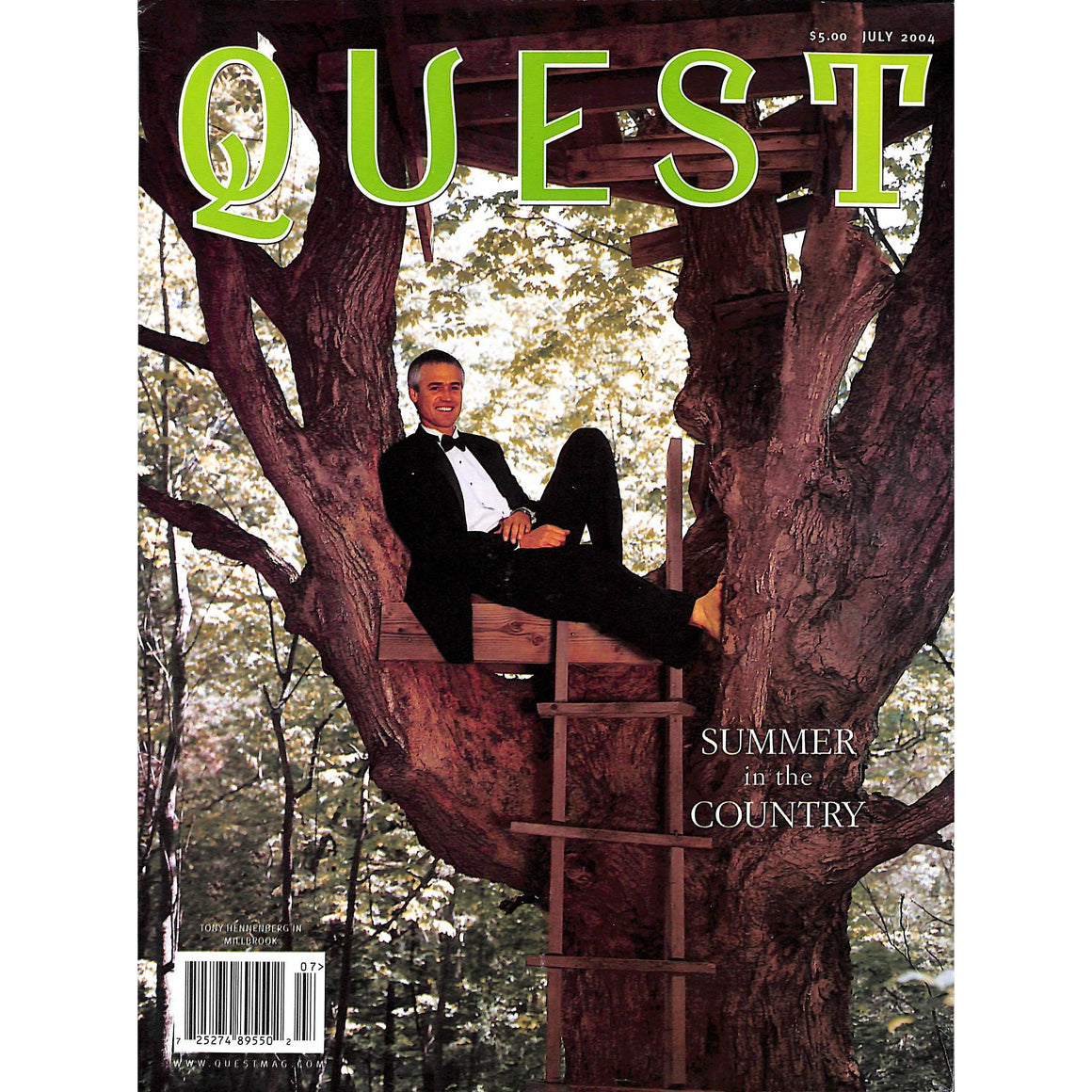 Quest Magazine: Summer in the Country July 2004