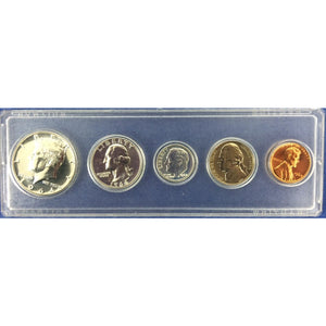 1964 5 Coin Proof Set