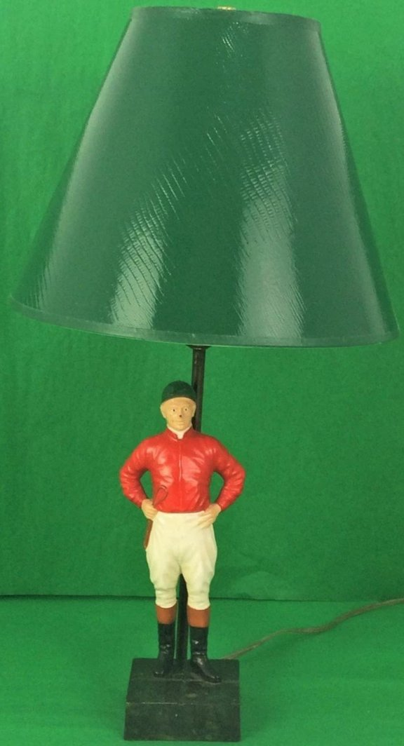 21 Club Jockey Lamp