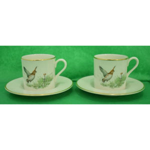 'Set of 6 Abercrombie & Fitch Pickard China Demitasse Cup & Saucer Set'