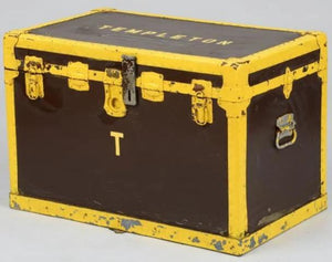 Templeton Polo Stables Tack Box from the CZ & Winston Guest estate in Old Westbury, LI
