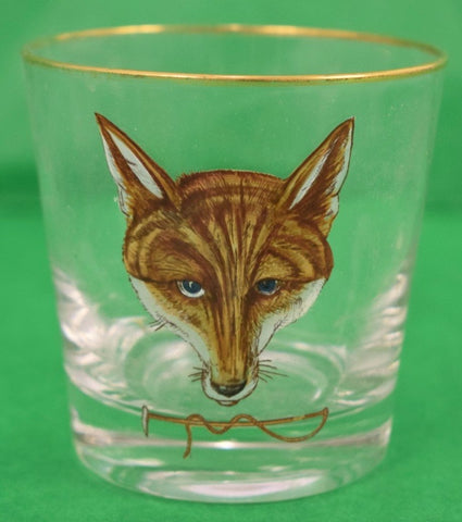 Set of 5 Foxhead Old-Fashioned Bar Glasses from Myopia Hunt Club