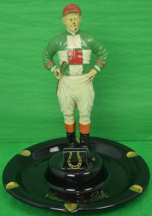 21 Jockey Custom Silks Ashtray