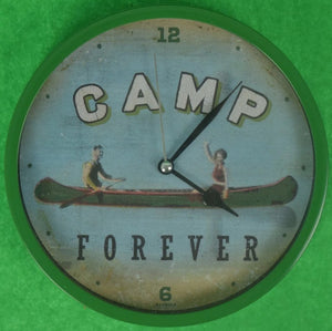 Camp Forever Clock