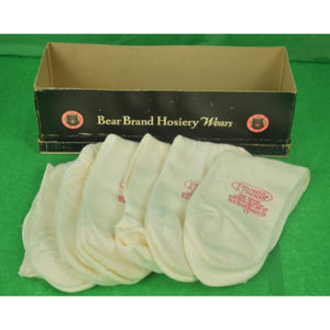 'Bear Brand Hosiery Boxed Set of 6 Socks' Sz: 11 (New/ Old Stock!)