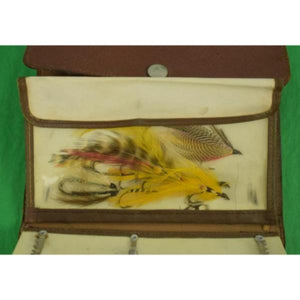 Abercrombie & Fitch Trout Fly Leather Case