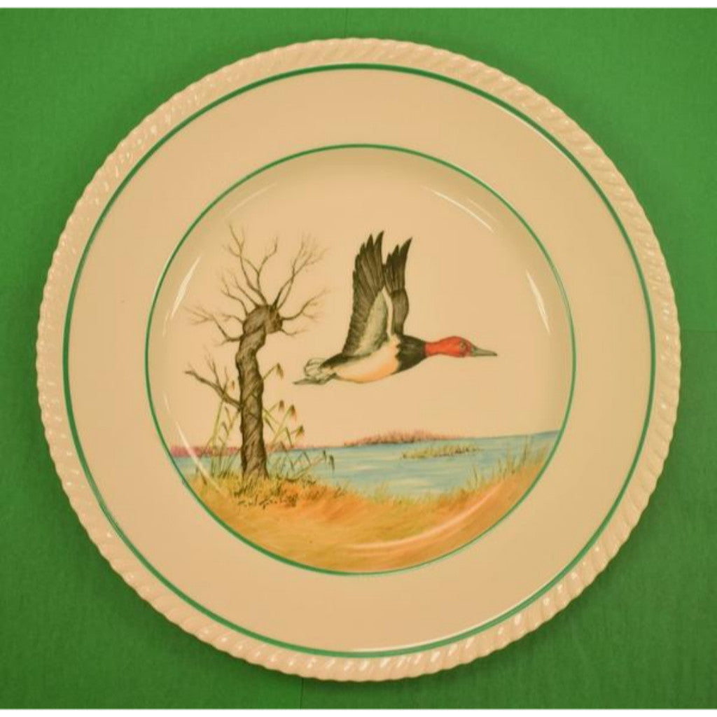 Set of 6 Cyril Gorainoff Johnson Bros Old English Gamebird Plates