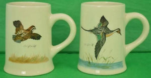 'Pair of Cyril Gorainoff Gamebird Mugs'