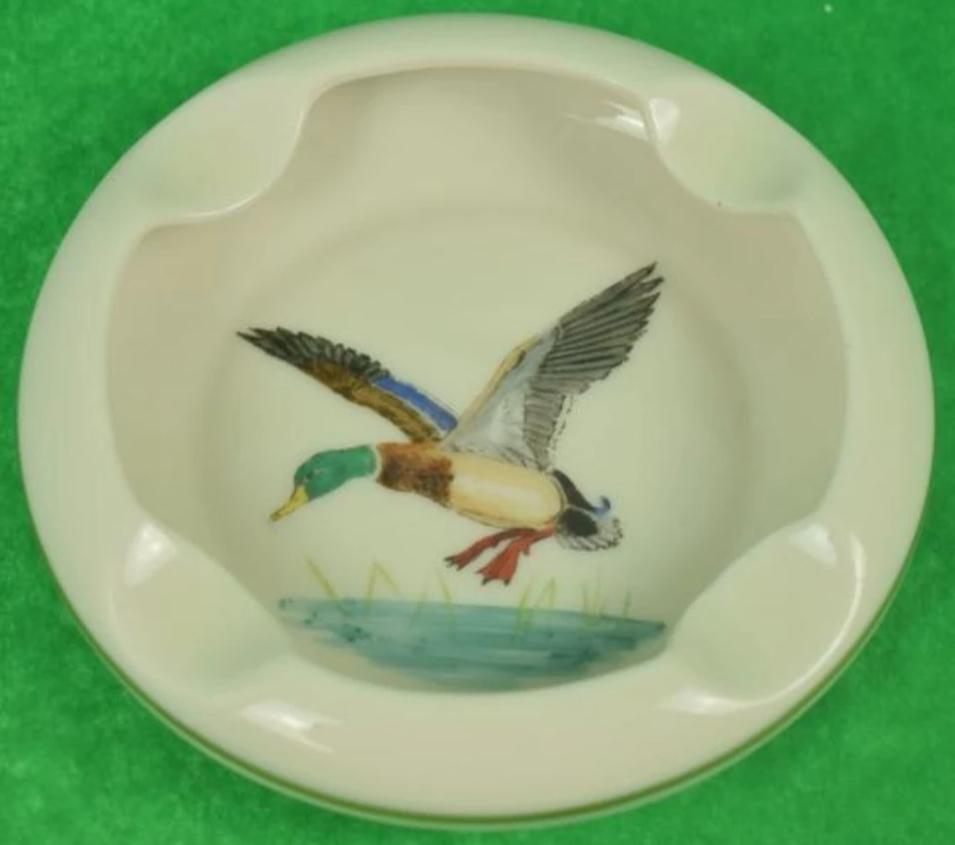 'Abercrombie & Fitch Mallard Ashtray'