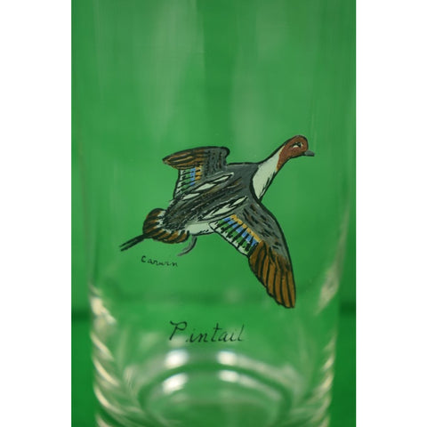 Set of (5) Carwin GameBird High-Ball Glasses