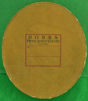 Dobbs Fifth Avenue c.1919 Cardboard Hat Box
