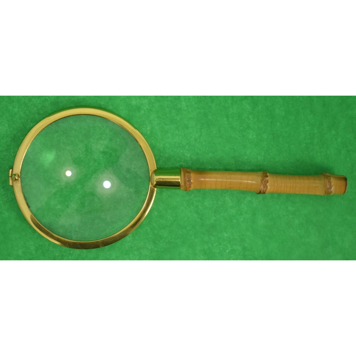 Vintage Bamboo Magnifying Glass