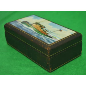 'Frank Vosmansky for Abercrombie & Fitch Tugboat Cigarette Box'