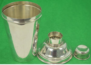 English Hallmarked Martini Shaker