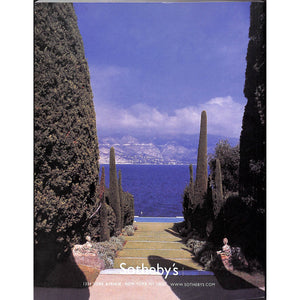 Sotheby's: The Collection Of Villa Fiorentina