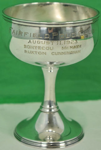 Fairfield Polo Club August 11, 1923 Silver Trophy