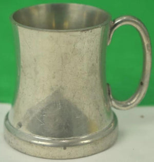 'Set of 6 Abercrombie & Fitch Miniature English Pewter Tankards'