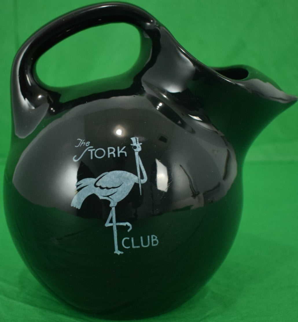 The Stork Club Shenango China Water Pitcher